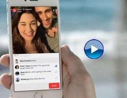 Rivoluzione Facebook, nostra vita in diretta streaming con live