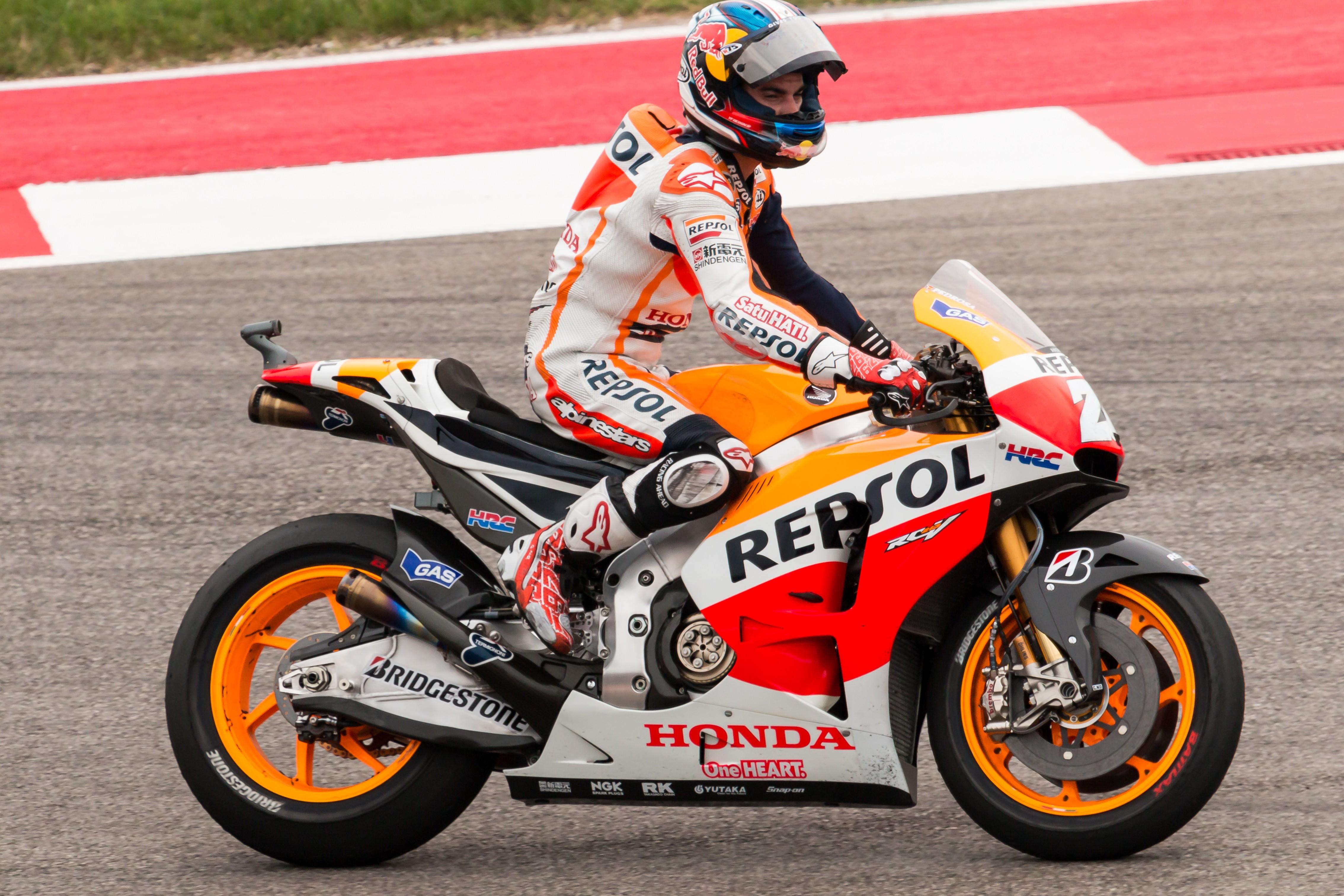Dani Pedrosa rinnova con la Honda, accordo fino al 2018