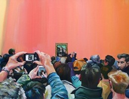 """I """"limiti"""" della tecnologia in dipinti ad olio del Louvre di Parigi"""