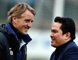 "Calcio, Thohir: ""Avanti con Mancini, avremo squadra entusiasmante"""
