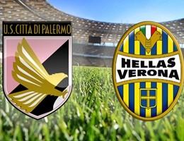 Notiziario di Palermo-Verona, Quaison-Vazquez in attacco