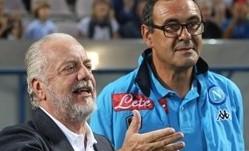 "De Laurentiis riparte da Sarri: ""Ora ciclo straordinario"""