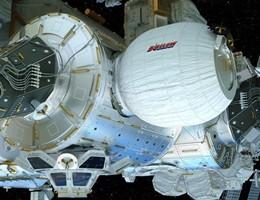 Spazio, gonfiato e pressurizzato il modulo Beam sulla ISS