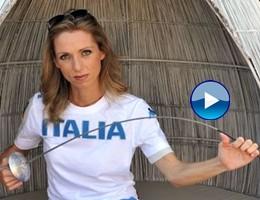 """Olimpiadi, l'augurio della Vezzali: """"L'Italia ci regali emozioni"""""""