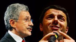 Massimo-DAlema-vs-Matteo-Renzi