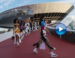 Louis Vuitton a Rio con la linea Cruise, sportiva e futuristica