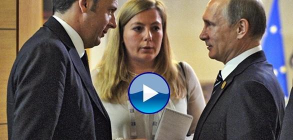 """Renzi da Putin, contratti miliardari e sanzioni """"non automatiche"""""""