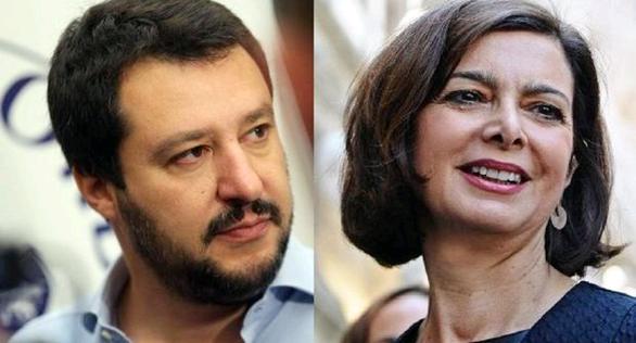 Elezioni, domani confronto tv Boldrini-Salvini