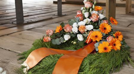 bara fiori funerali