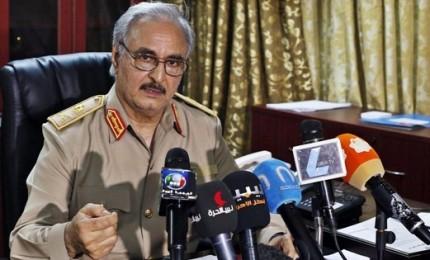 Conferenza internazionale Libia, Haftar in volo per Palermo