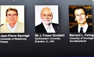 Premio Nobel per la chimica a Sauvage, Stoddart e Feringa