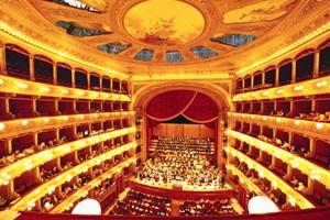 15 Jun 2002, Palermo, Sicily --- Sicily - Teatro Massimo Interior --- Image by © Atlantide Phototravel/Corbis