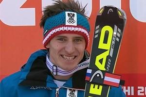 Innerhofer secondo nel supergigante di Kitzbuehel, vince Mayer