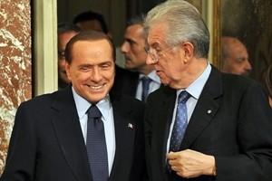 """Il dopo Renzi, quando Berlusconi-Monti si """"congelarono"""" per la manovra"""
