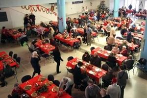 A Natale pranzi per i poveri: 40 mila solo in Italia, gli altri in oltre 700 città del mondo