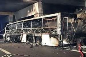 Bus in fiamme su A4, l'apocalisse e l'umanità dei soccorritori. Il racconto dell'Agente Lisa