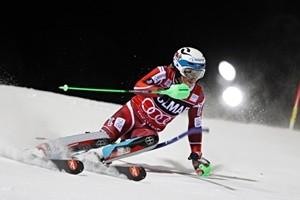 Kristoffersen vince lo slalom di Adelboden, Moelgg secondo