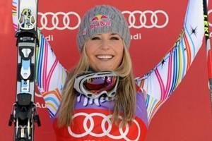 Strepitosa Vonn, ritorno e vittoria nella libera di Garmisch
