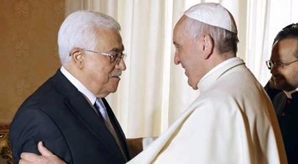 """Abu Mazen da papa Francesco: """"Altri Stati facciamo come il Vaticano. No ambasciata Usa a Gerusalemme"""""""