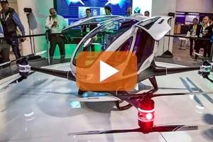 Droni, 5G e telefoni vintage al Mobile World Congress