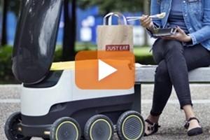 Il robot fattorino consegna a domicilio, al via test in Usa