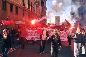 Ultradestre a Genova, timori per il rischio disordini. E la sinistra è pronta a scendere in piazza