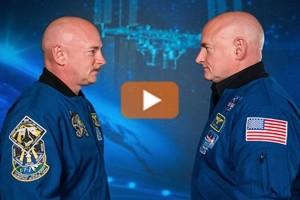 """I fratelli spaziali Mark e Scott Kelly non sono più """"gemelli"""""""