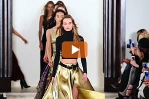 Moda New York, Ralph Lauren si ispira alla sensualità esotica
