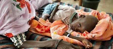 Sud Sudan, è allarme carestia: tre anni di guerra, 5 milioni di persone a rischio fame