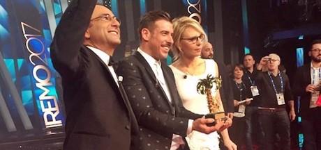 Sanremo, trionfa Gabbani: Dedicato a chi crede in me. E vola a Eurovision Song Contest