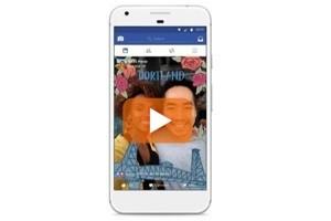 Nuova piattaforma Effetti della fotocamera di Facebook
