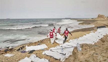 Trovati 74 corpi di migranti sulla costa ovest della Libia. #StopIndifference