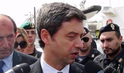 Ministro Orlando visita scuola Giovanni Falcone a Palermo