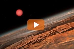 Scoperti sette pianeti, simulazione Nasa attorno a stella Trappist-1