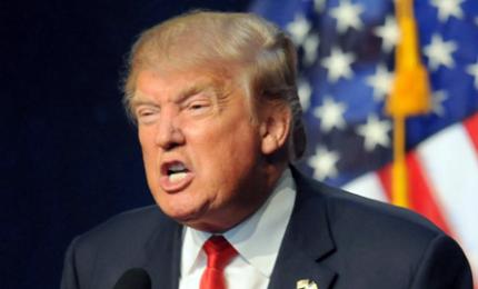"""Trump, sviluppo colonie israeliane """"non positivo per la pace"""". Oggi incontro con premier giapponese e week end in Florida"""