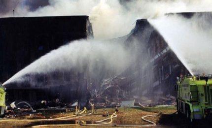 11 settembre, le foto inedite dell'attacco al Pentagono