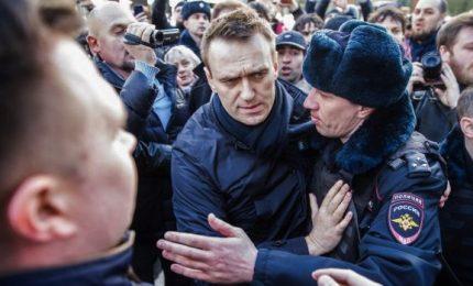 Protesta in Russia, Navalny condannato a 15 giorni di carcere. Alfano a Mosca
