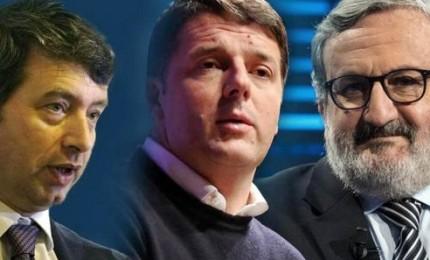 Finora 10mila votanti, Renzi al 64% e Orlando 29%. Mancano ancora i circoli del Sud
