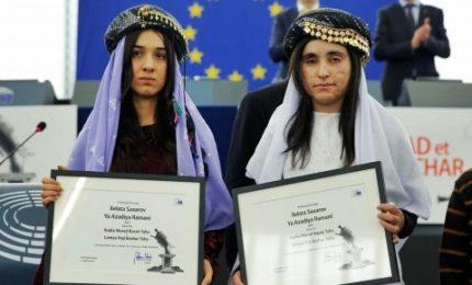 Lamiya Aji Bashar a Trieste, 2500 bambini con terrorismo
