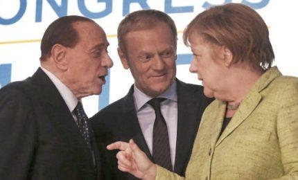 Berlusconi torna al Ppe e vede Merkel: in campo contro populismi