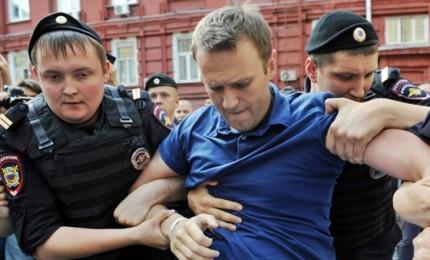Mosca in piazza contro la corruzione. In manette candidato alle presidenziali Navalny