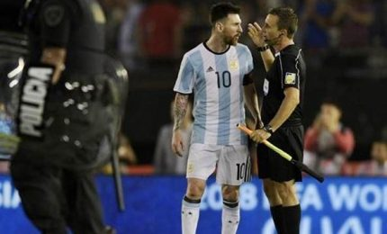 Stangata sull'Argentina, Messi squalificato per quattro turni