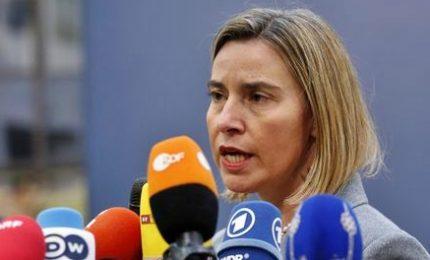 Mogherini: su Gerusalemme l'Ue è unita, nessuno seguirà Trump