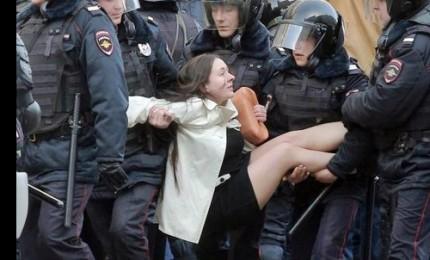 Protesta anti-Putin, oltre 700 arresti. In manette anche candidato alle presidenziali
