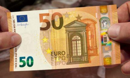 Arriva la nuova banconota da 50 euro, sarà più difficile falsificarla