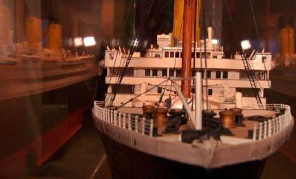 105 anni fa affondava il Titanic, a Torino i reperti in mostra