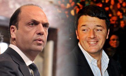 Renzi apre a Alfano, ma il leader Ap tratta anche con Fi
