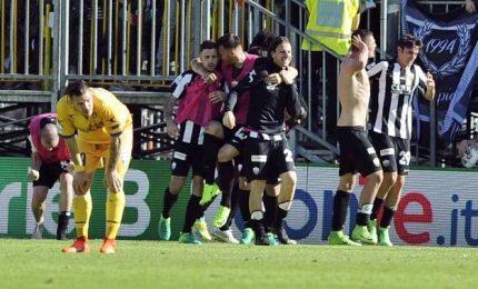 Ascoli-Frosinone 1-1, ciociari raggiunti nel finale