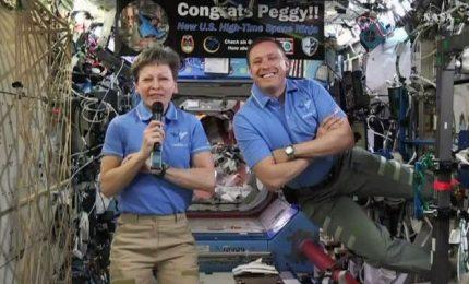Casa Bianca chiama ISS, Trump e l'astronauta Whitson