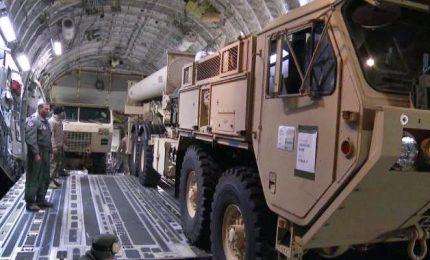 Crisi coreana, Usa consegnano a Corea Sud sistema antimissili